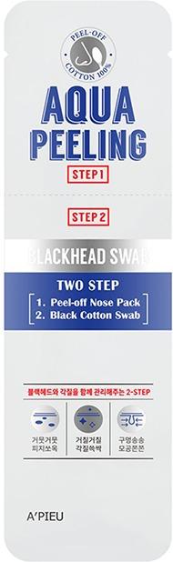 APieu Aqua Peeling Blackhead Swab Two Step