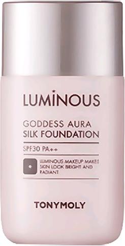 Tony Moly Luminous Goddess Aura Silk Foundation