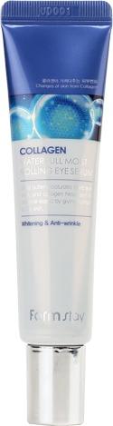 Купить FarmStay Collagen Water Full Moist Rolling Eye Serum
