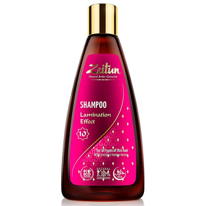 Купить Zeitun Lamination Effect Shampoo for Thin and Fragile Hair Iranian Henna