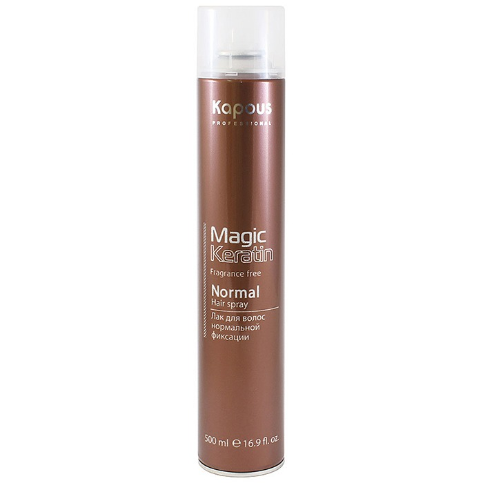 Kapous Fragrance Free Magic Keratin Normal Hair Spray фото