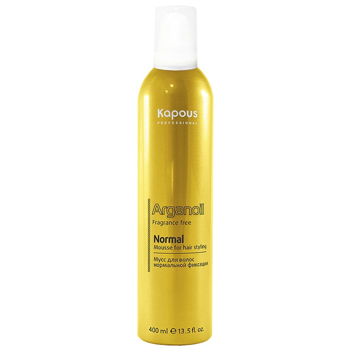 Kapous Fragrance Free Arganoil Normal Mousse