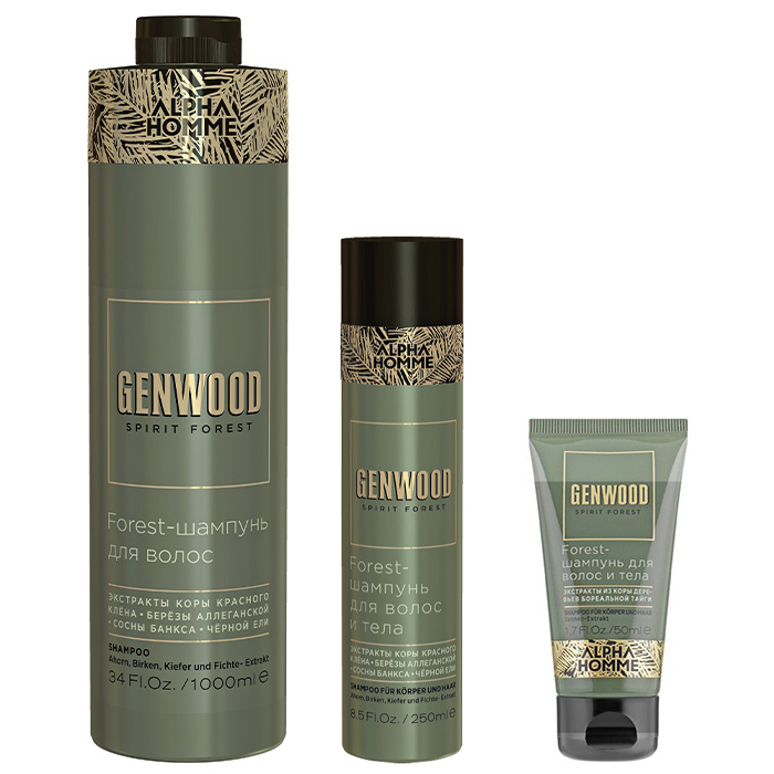 Estel Alpha Homme Genwood Forest Shampoo фото