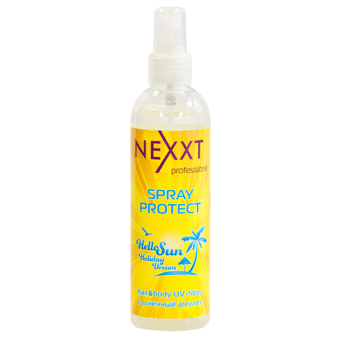 Nexxt Hair And Body UVFilter Spray Protect.