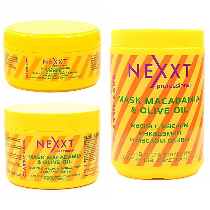Купить Nexxt Macadamia And Olive Oil Mask