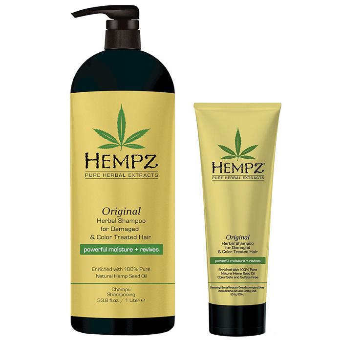 Купить Hempz Original Herbal Shampoo For Damaged And Color Treated Hair