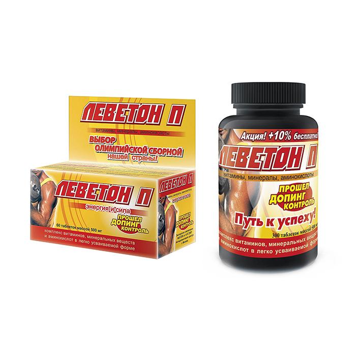 Витамины Парафарм витамины Леветон-П