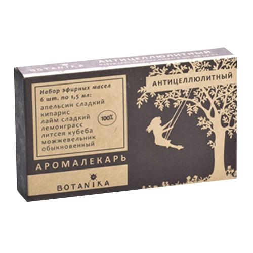 Купить Набор эфирных масел Botavikos набор 100% эфирных масел Антицеллюлитный