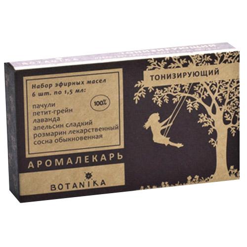 Купить Набор эфирных масел Botavikos набор 100% эфирных масел Тонизирующий