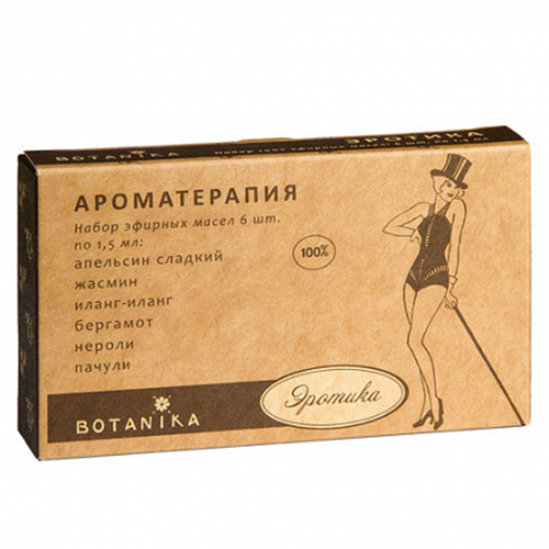 Купить Набор эфирных масел Botavikos набор 100% эфирных масел Эротика
