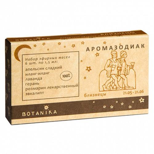 Купить Набор эфирных масел Botavikos набор 100% эфирных масел Близнецы
