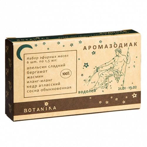 Купить Набор эфирных масел Botavikos набор 100% эфирных масел Водолей