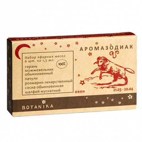 Купить Набор эфирных масел Botavikos набор 100% эфирных масел Овен