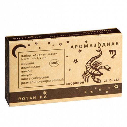 Купить Набор эфирных масел Botavikos набор 100% эфирных масел Скорпион