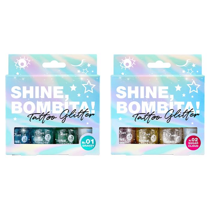 Days Shine Bombita Tattoo Glitter