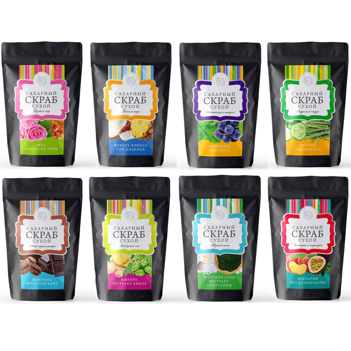 Купить Скраб Дом Природы сухой сахарный скраб для тела