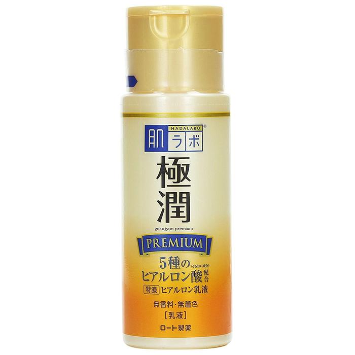 Hada Labo Gokujyun Premium Hyaluronic Acid Milk.