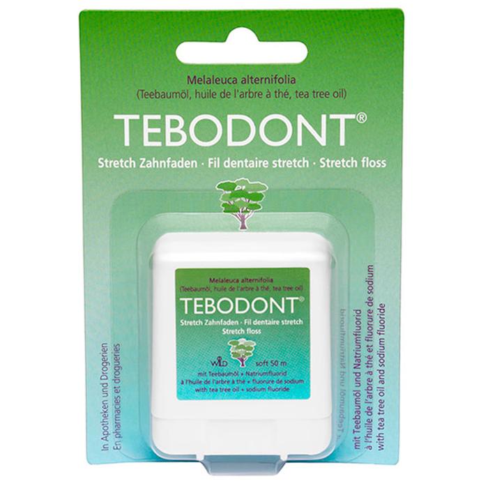 Зубная нить Dr. Wild зубная нить эластичная Тебодонт