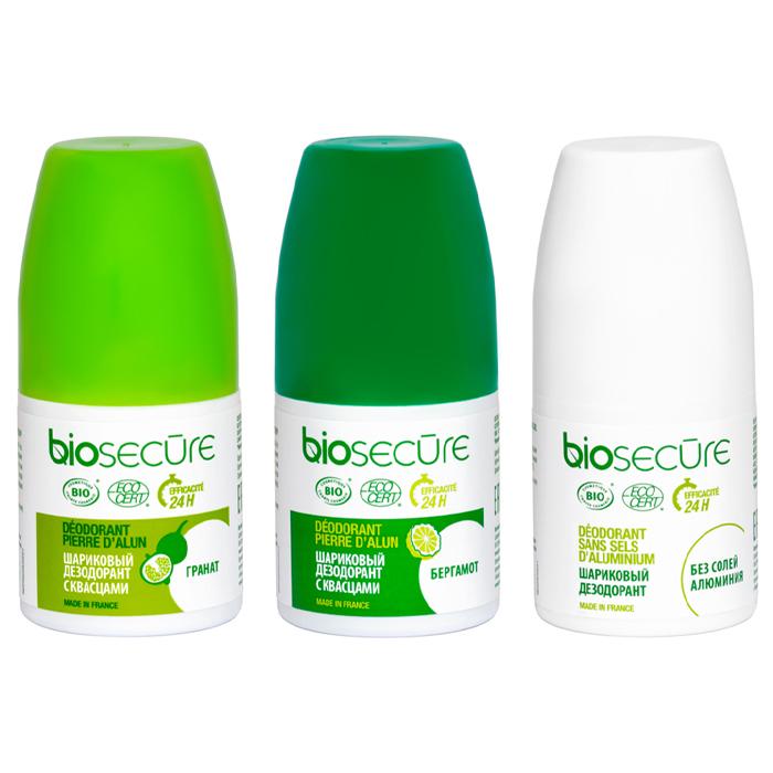 Дезодорант BioSecure шариковый дезодорант