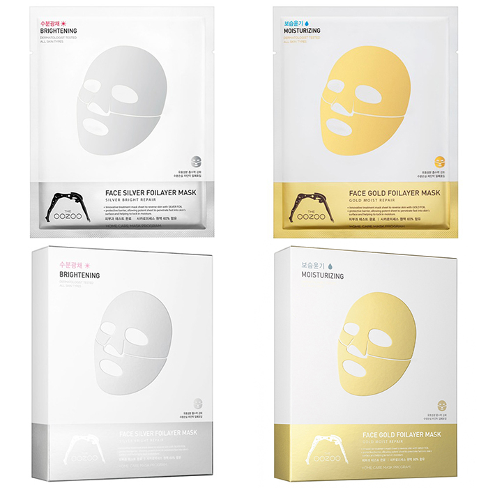 The Oozoo Face Foilayer Mask фото