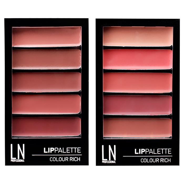 LN Professional Lip Palette Colour Rich фото