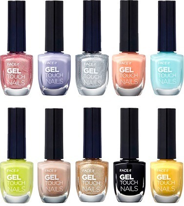 The Face Shop Face It Gel Touch Nails фото