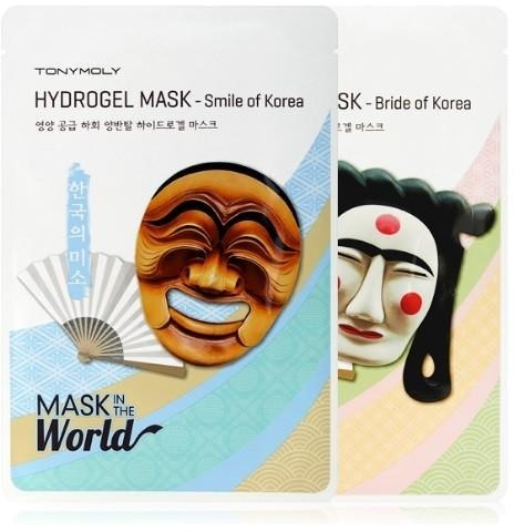 Tony Moly Mask In The World Hydrogel фото