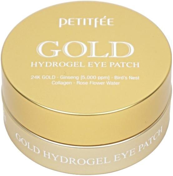 Гидрогелевые патчи для глаз Petitfee Gold Hydrogel Eye PatchПлотный график работы, стрессы и усталость негативно сказываются на упругости и красоте кожи вокруг глаз. В результате она становится тонкой, слабой и с проявлением морщинок.<br>Уникальные гидрогелевые патчи от Petitfee пропитаны ценными питательными растительными экстрактами, которые глубоко питают уставшую кожу. Активные компоненты средства мгновенно проникают в глубокие слои дермы и восстанавливают ее на клеточном уровне. Гидрогелевая основа плотно прилегает к коже и обеспечивает максимальное проникновение растительных экстрактов.<br>Гидролизованный коллаген в составе средства заполняет морщинки и разглаживает их, кроме того он стимулирует выработку гиалуроновой кислоты и эластина.<br>Частицы золота устраняют отечность, темные круги вокруг глаз, снимают воспаление и дарят коже сияющий вид.<br>Экстракт корня женьшеня великолепно питает, увлажняет и тонизирует кожу. Препятствует появлению дряблости и обвисания кожи.<br>Экстракт грейпфрута повышает кожный иммунитет, деликатно осветляет тон кожи, снимает раздражение и локальные покраснения.Объём: 1,4 гр.*60Способ применения:На предварительно очищенную кожу наложите патчи и оставьте на 5 – 10 минут, после чего удалите, а остатки питательной эссенции мягко вбейте похлопывающими движениями.<br>