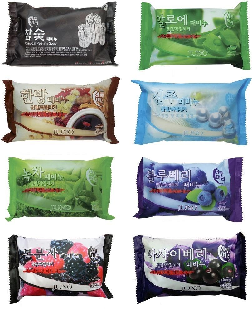 Отшелушивающее мыло Juno Sangtumeori Peeling Soap