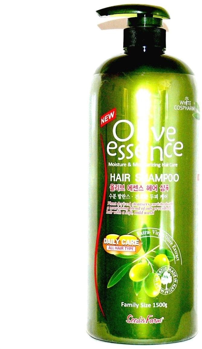 White Cospharm Bio Olive And Amino Hair are Shampoo.