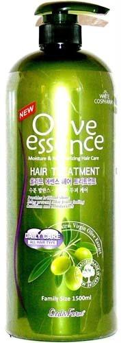 White Cospharm Bio Olive And Amino Treatment Hair Rinse.