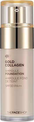 The Face Shop Gold Collagen Ampoule Foundation