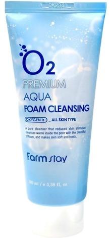 Farmstay O Premium Aqua Foam Cleansing фото