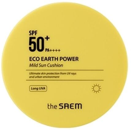 The Saem Eco Earth Power Mild Sun Cushion SPF PA