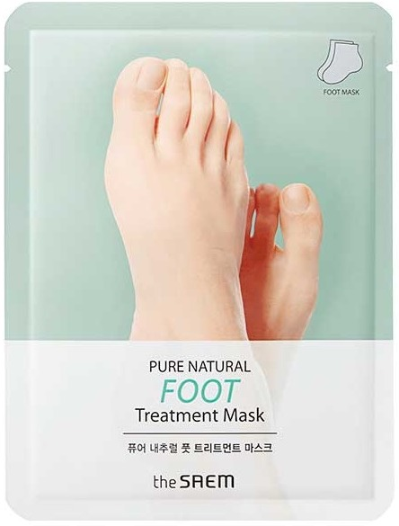 The Saem Pure Natural Foot Treatment Mask