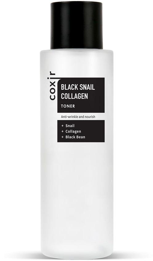 Coxir Black Snail Collagen Toner фото