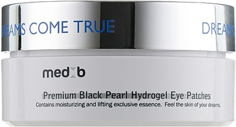 Med B Premium Black Pearl Hydrogel Eye Patch