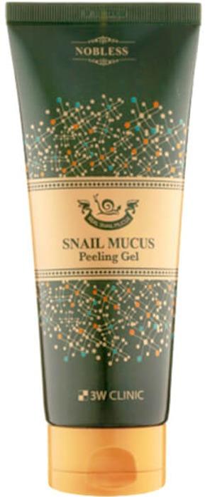 Купить W Clinic Snail Mucus Peeling Gel, 3W Clinic