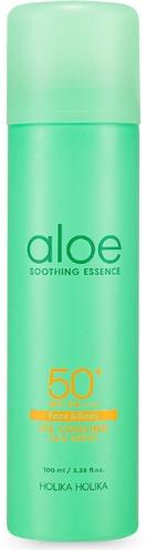 Купить Holika Holika Aloe Soothing Essence Face and Body Ice Cooling Sun Spray SPF PA