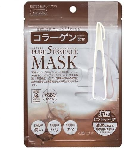 Japan Gals Collagen Essene Mask фото