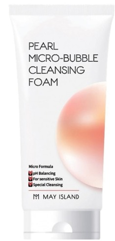 May Island Pearl MicroBubble Cleansing Foam
