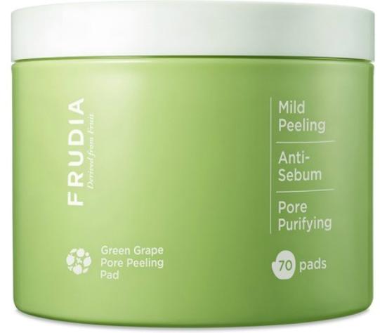 Frudia Green Grape Pore Clear Peeling Pad фото