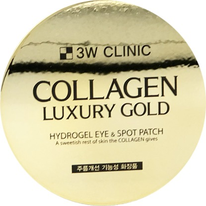 Купить W Clinic Collagen Luxury Gold Hydrogel Eye and Spot Patch, 3W Clinic