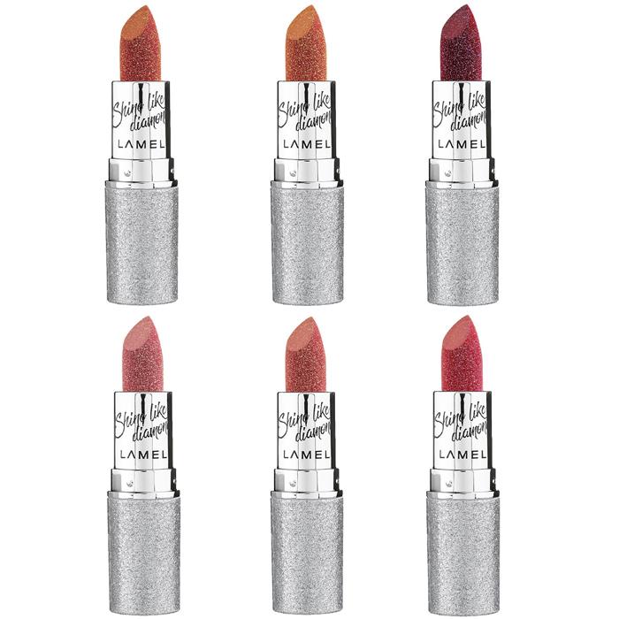 Lamel Insta Diamond Shine Lipstick фото