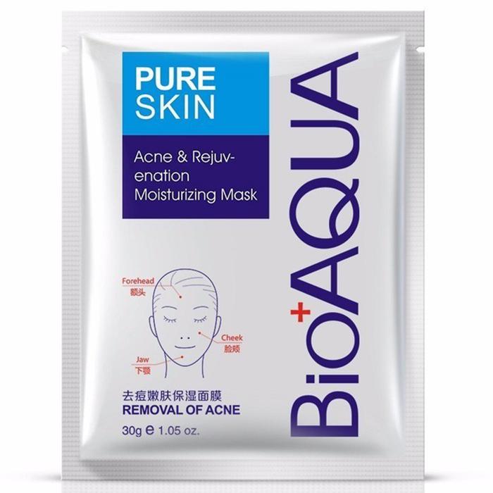Bioaqua Acne And Rejuvenation Moisturizing Mask фото