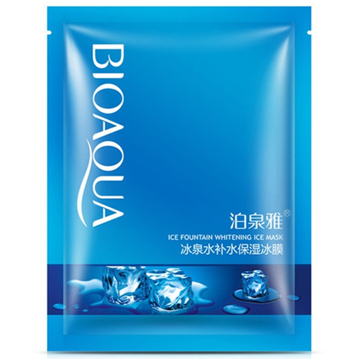 Bioaqua Ice Fountain Whitening Ice Mask фото