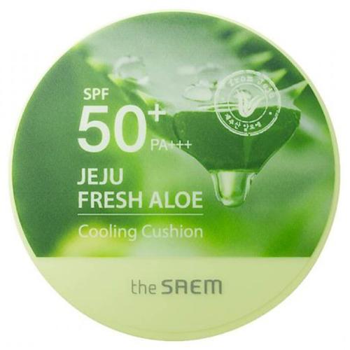 The Saem Jeju Fresh Aloe Cooling Cushion Natural Baige SPF  PA