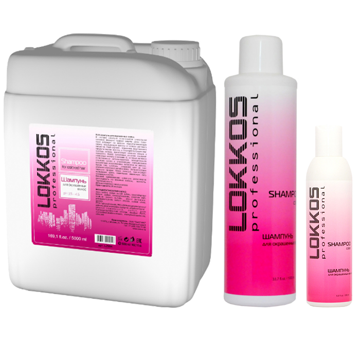 Купить Lokkos Professional For Colored Hair Shampoo