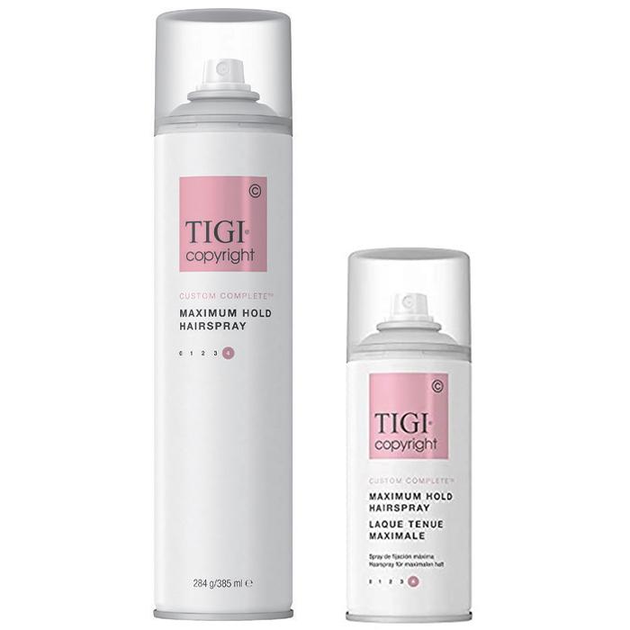 Купить TIGI Copyright Custom Care Maximum Hold Hairspray