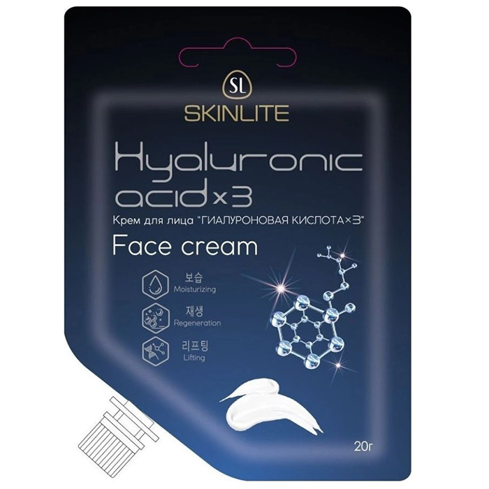 Skinlite Hyaluronic Acid x Face Cream  - Купить